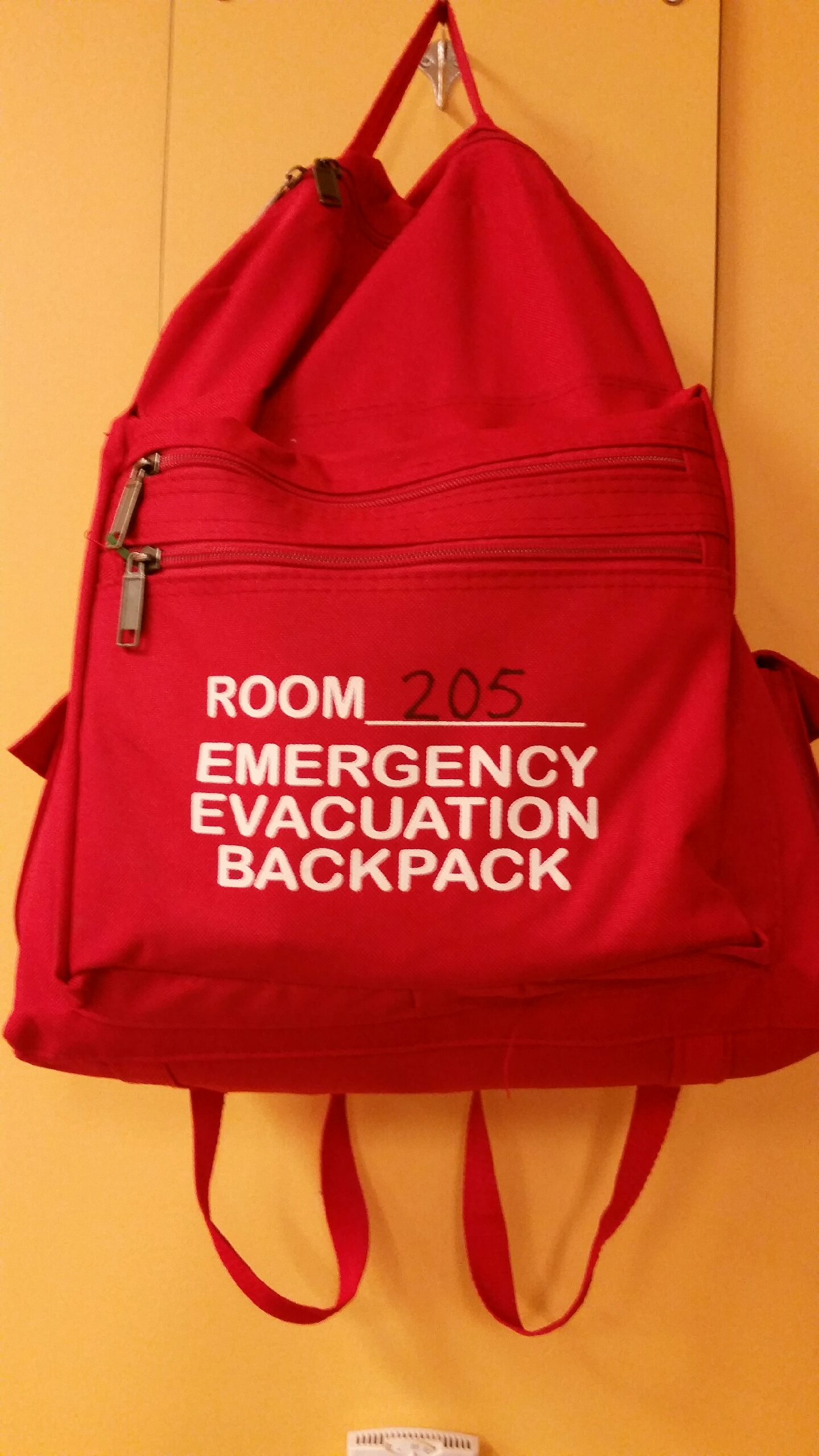 Preparing For An Emergency Packing Your Emergency Evacuation Backpack on Emergency Evacuation Maps