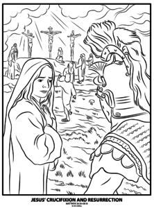 Jesus Is Alive Coloring Pages